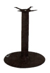 Bar Height Cast Iron Round Table Bases (TX)