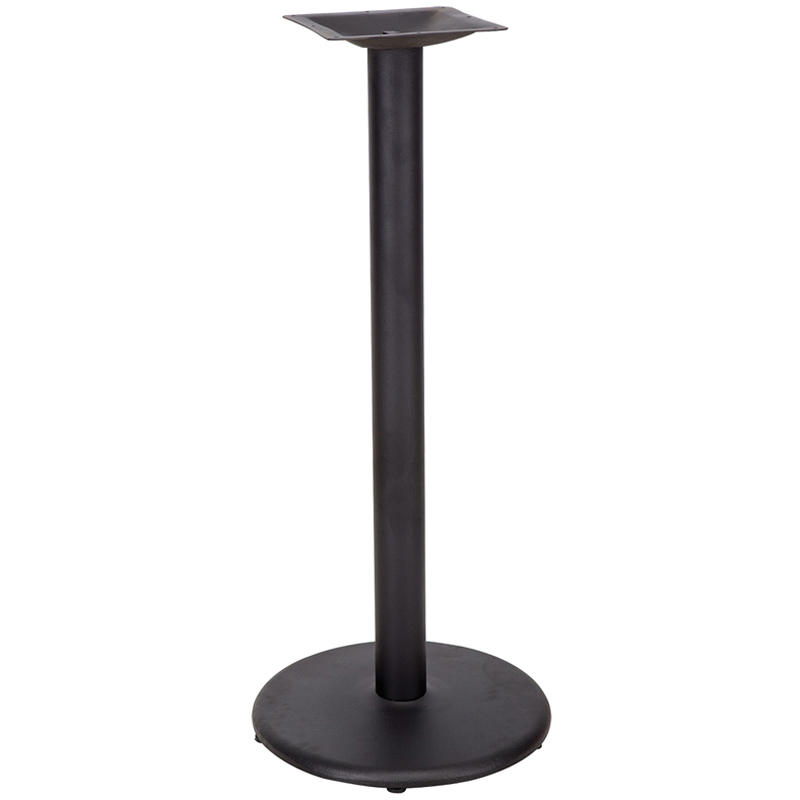 Cast Iron Round Table Base - Bar Height (GA)