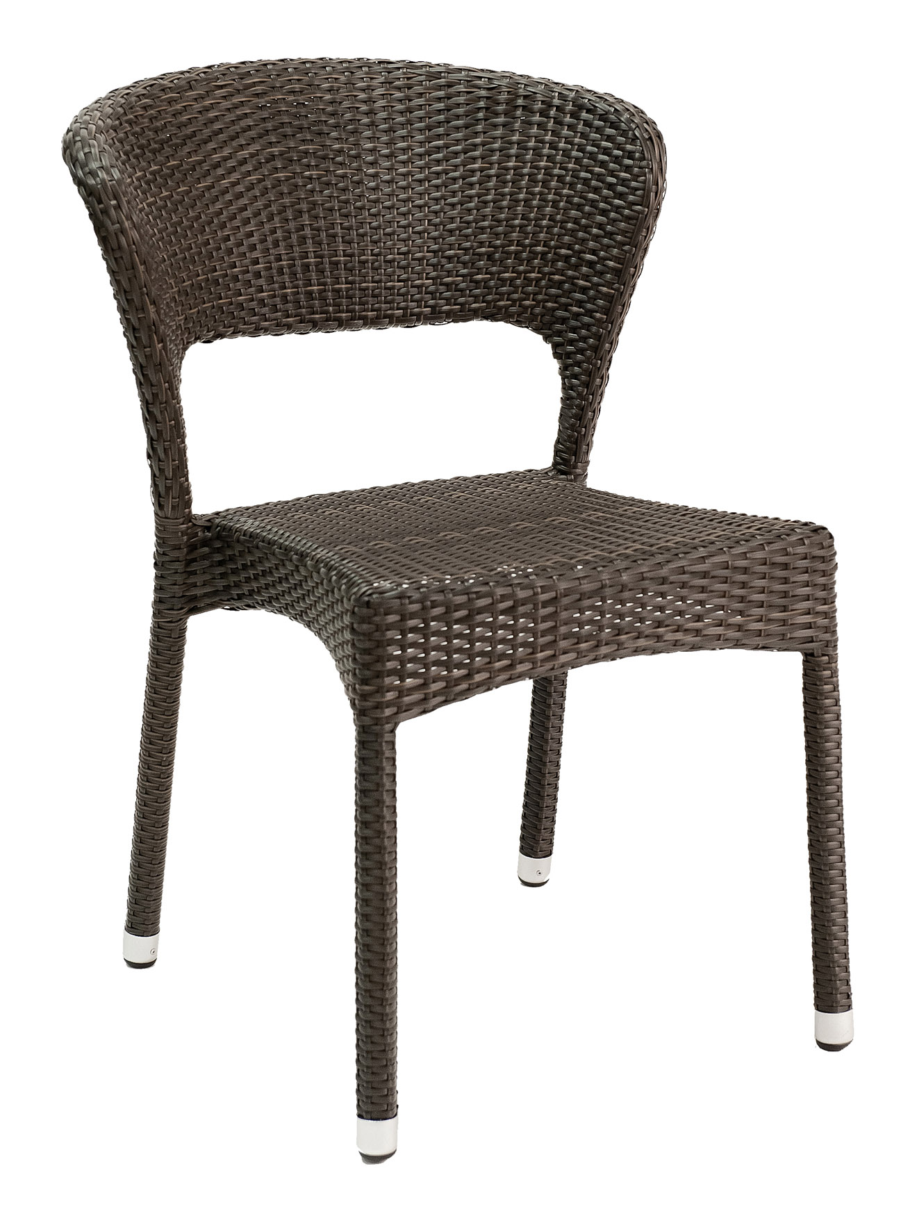 Biscayne Bay Open Back Wicker Side Chair