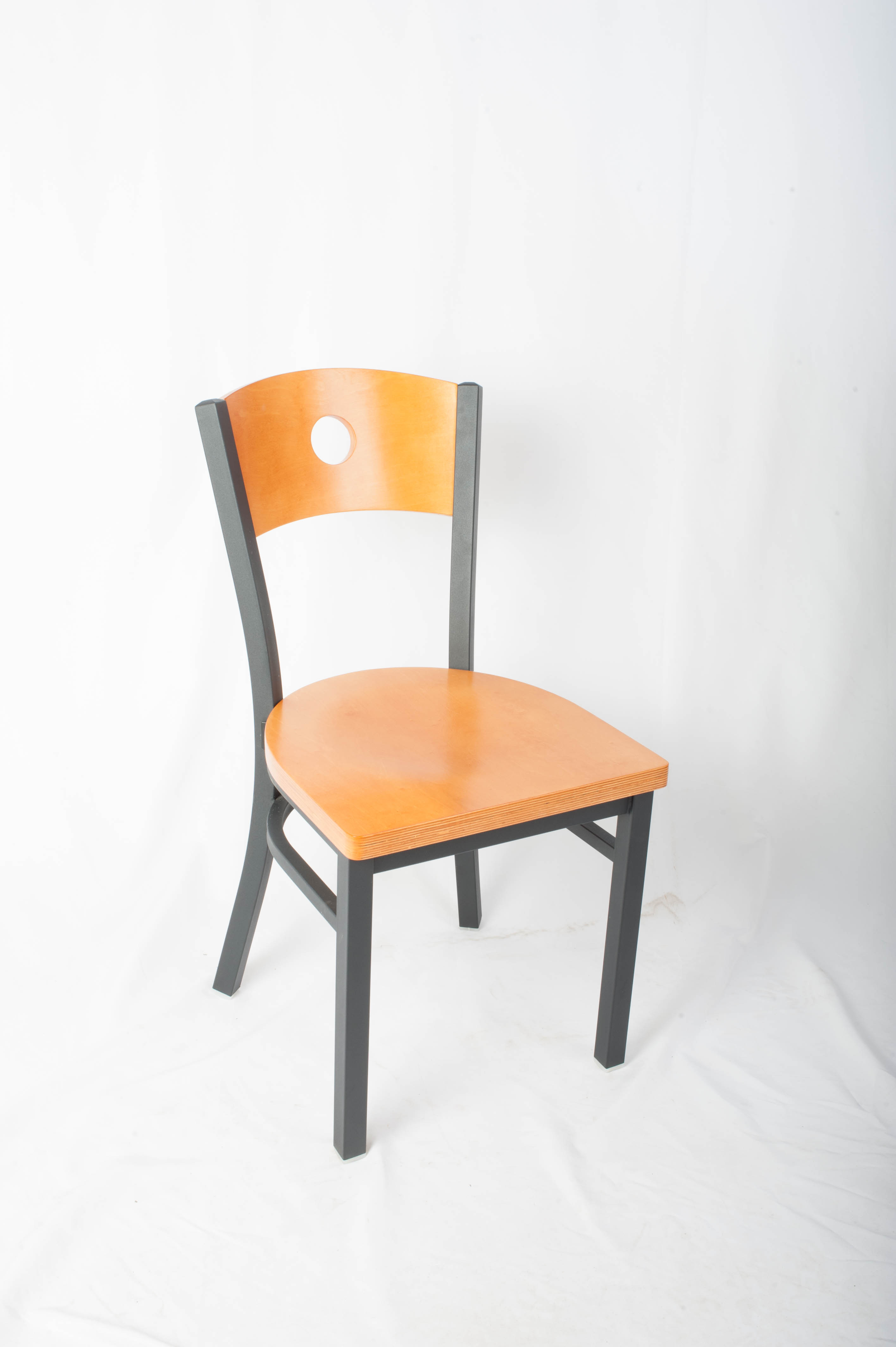 Circle Back Side Chair