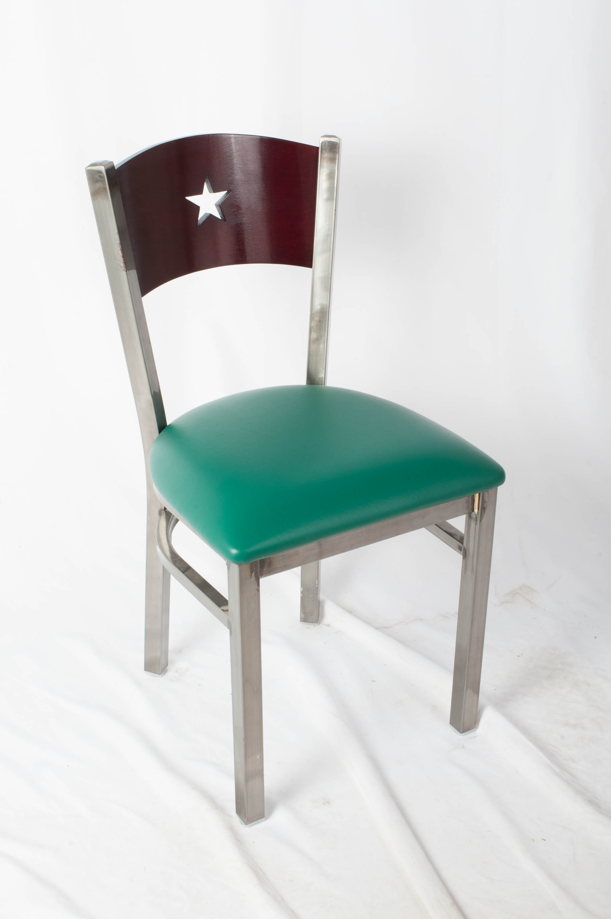 Liberty Wood Back Side Chair in Clear Coat