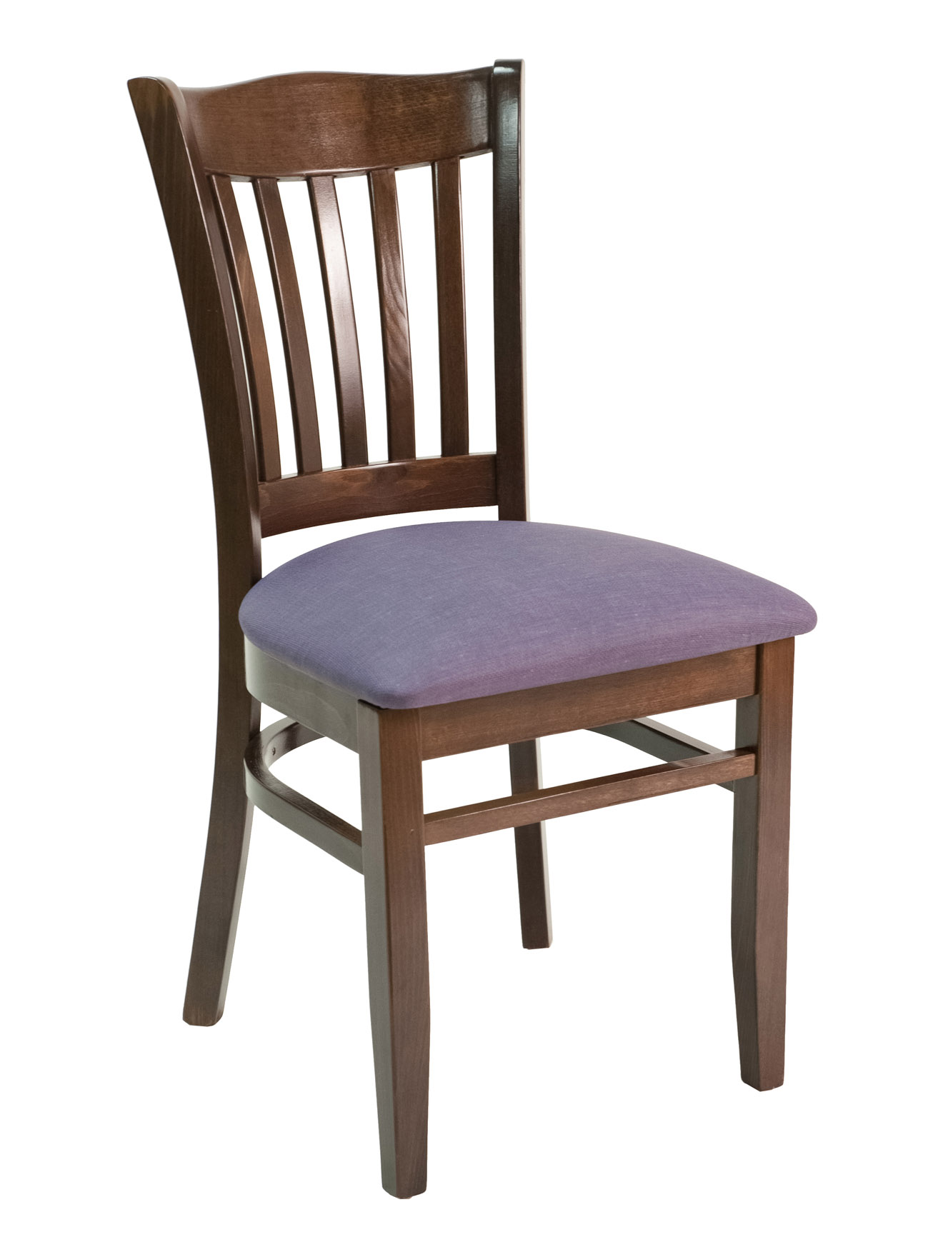 Contemporary Vertical Back Side Chair