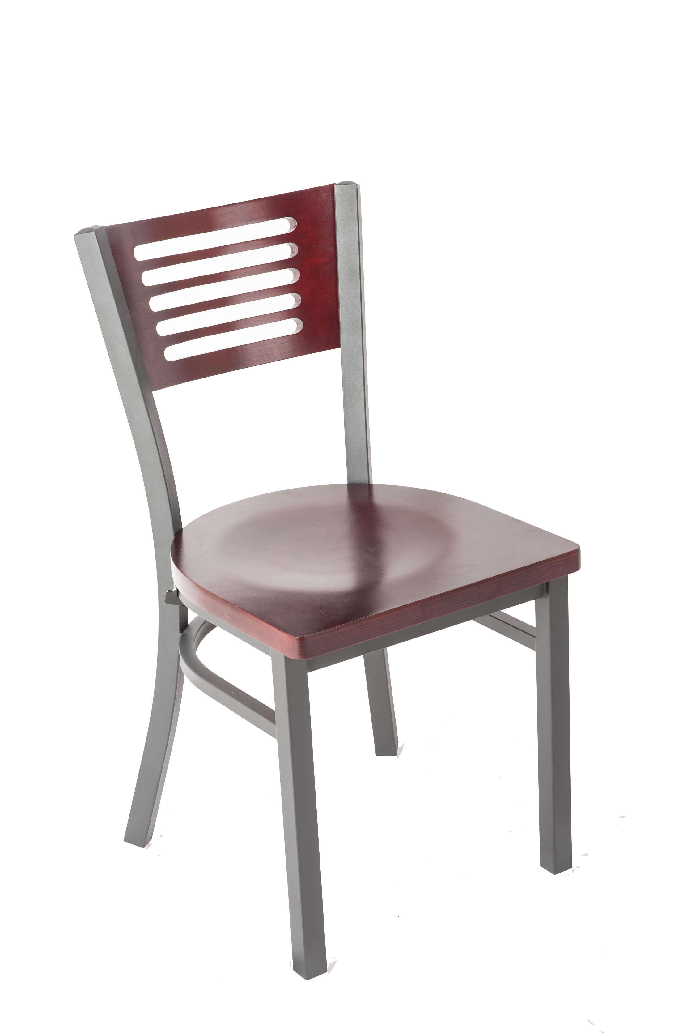 Five Line Back Side Chair