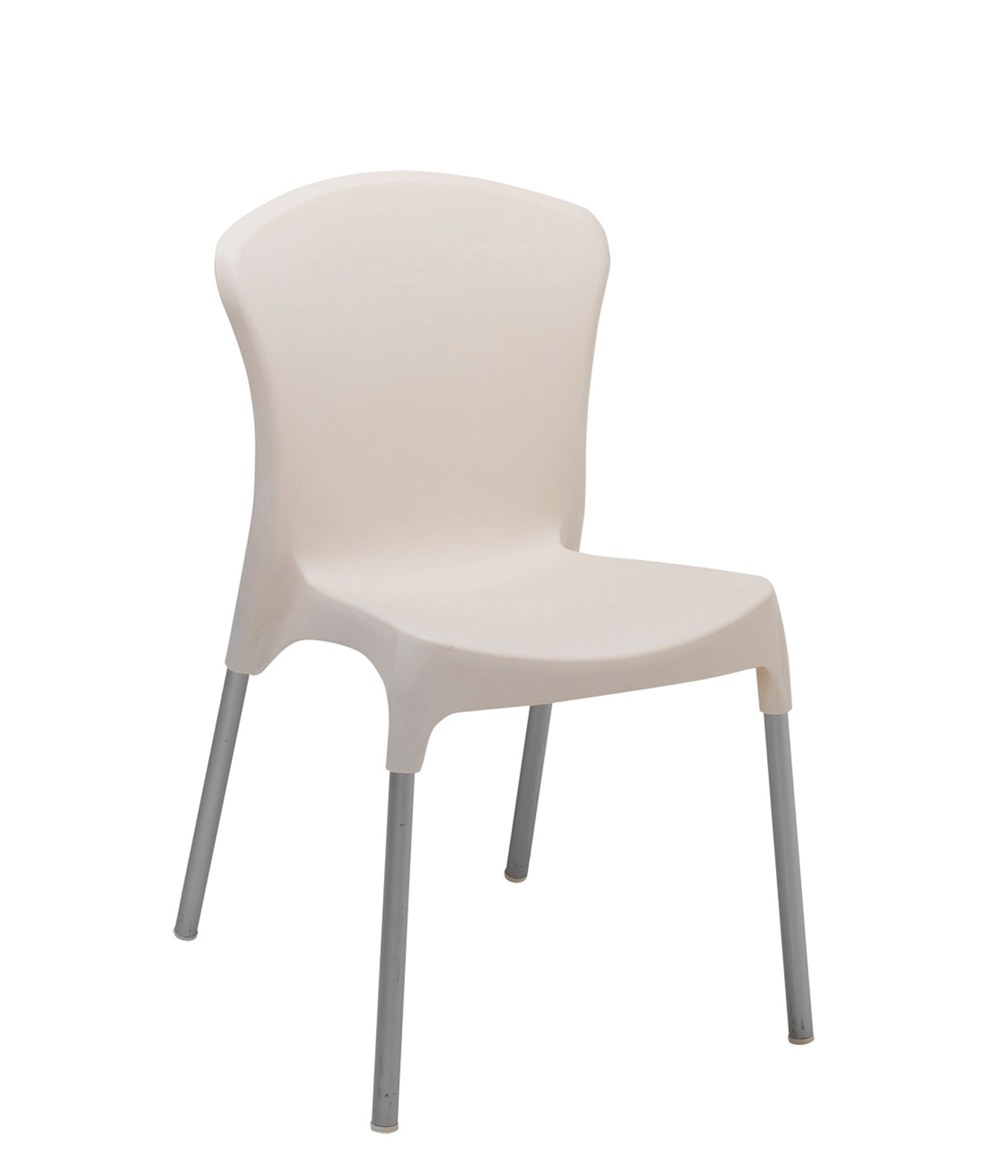 Lola Aluminum Resin Side Chair