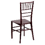 Chiavari Stackable Resin Chair Picture 3