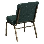 Gold Vein Frame 21 Inch Wide Church Chair Picture 3
