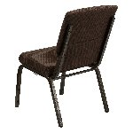 Gold Vein Frame 18.5 Inch Wide Church Chair Picture 3