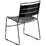 Hercules Series Indoor-Outdoor Metal Stack Chair Picture 3