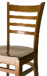 Ladder Back Wood Side Chair Picture 2