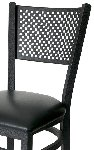 Mesh Back Metal Frame Side Chair Picture 2