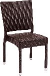 Monterey Java Wicker Side Chair Picture 1