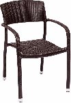 Regis Java Wicker Arm Chair Picture 1