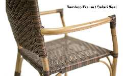 Safari Rattan Arm Bar Stool Picture 2