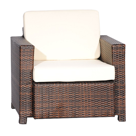 Outdoor Wicker Weave Arm Chair