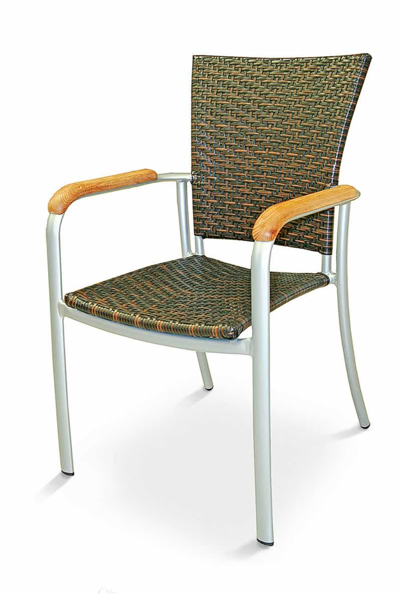 Safari Wood Arm Chair
