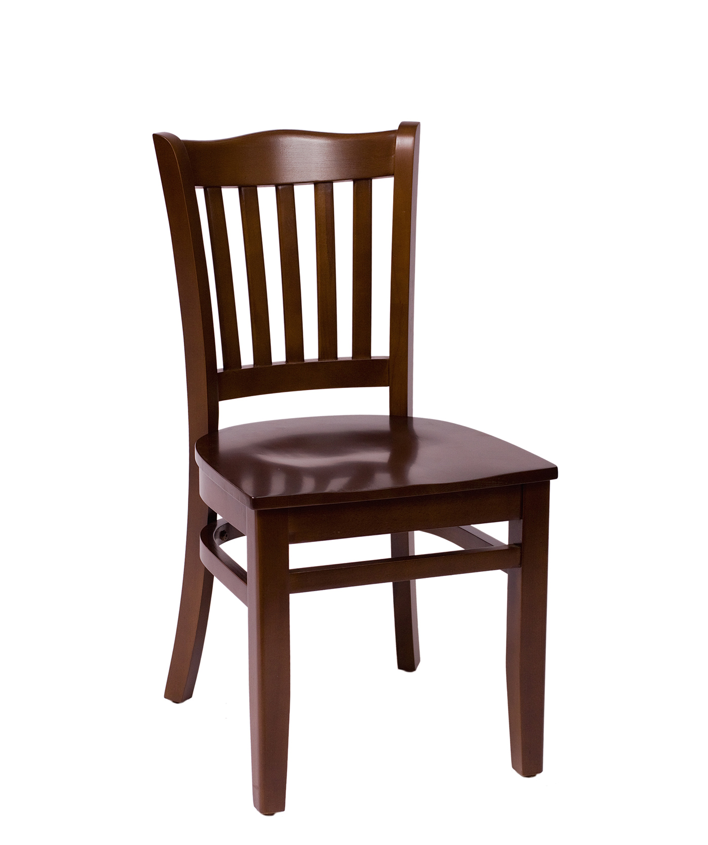School Style Wood Side Chair