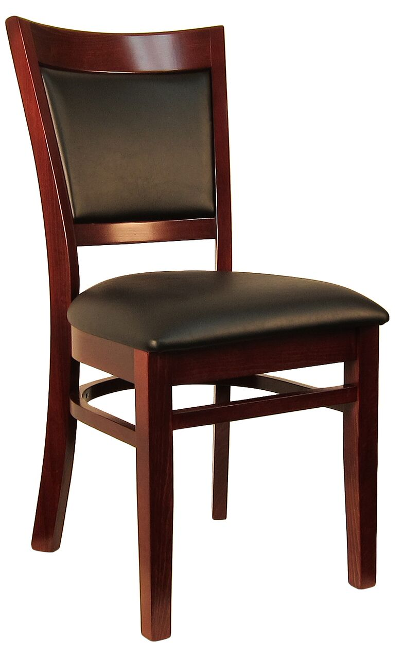 Sloan Padded Back Wood Chair
