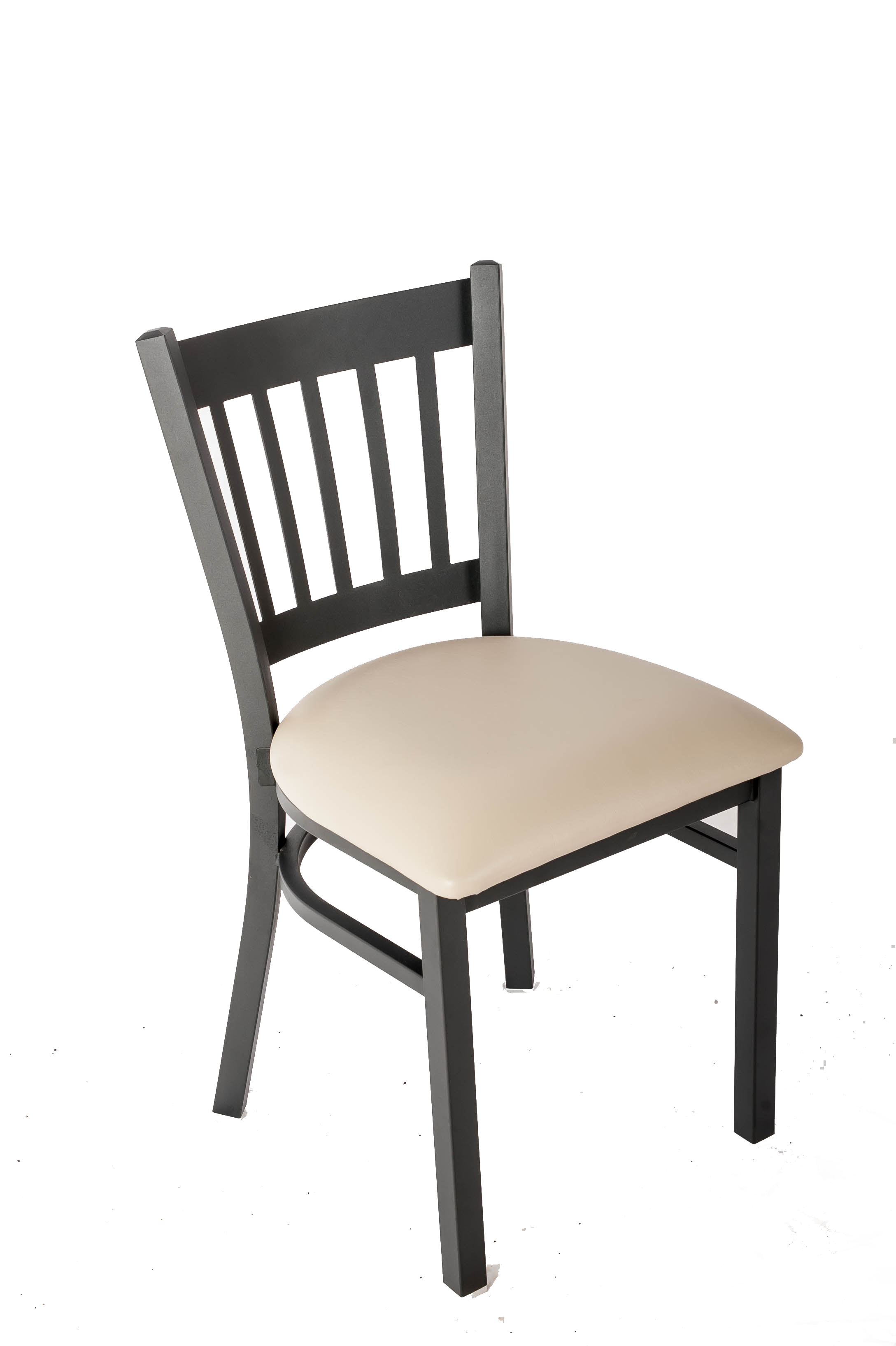 Vertical Back Side Chair