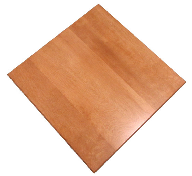 E-Wood Economy Square Table Top Picture 1