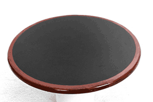 Inlay Custom Laminate Round Table Top Picture 1