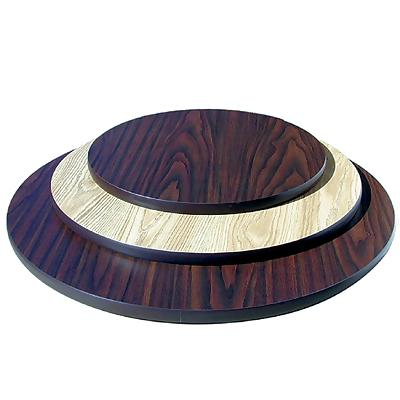 Laminated Round Top with Black T-Molding Picture 1