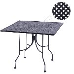 Diamondback Series Outdoor Round Table  Picture 2