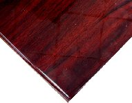 Resin Coated Veneer Square Table Top Picture 1