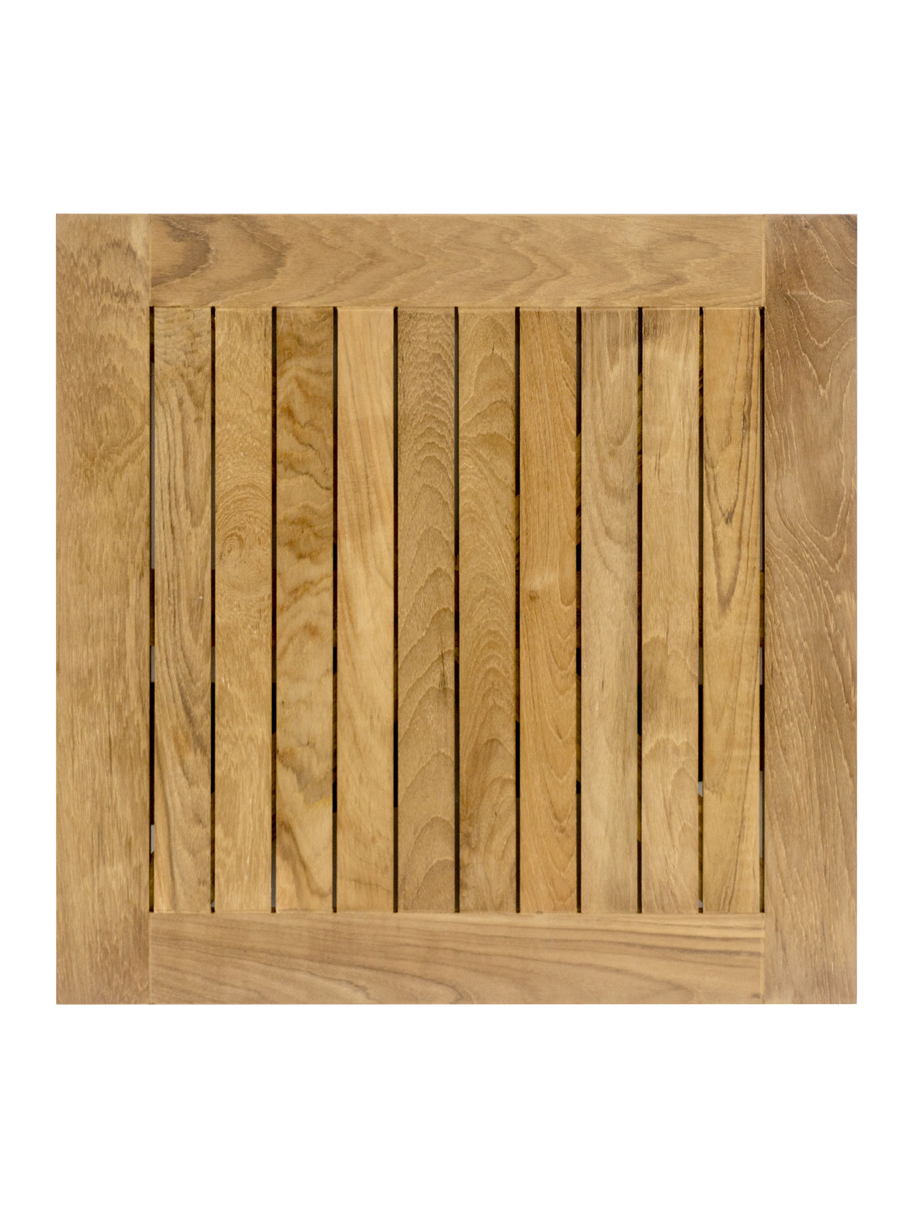 Real Teak Wood Square Indoor/Outdoor Table Top Picture 3